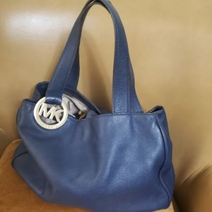 Navy Blue Michael Kors Purse